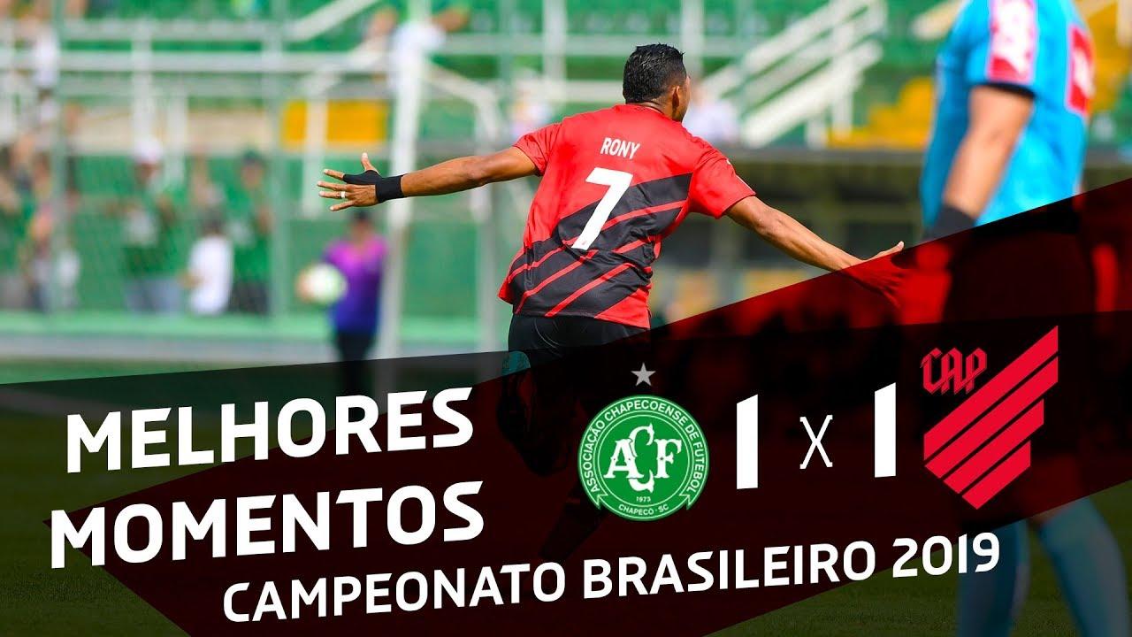 Chapecoense 1x1 Athletico Paranaense | MELHORES MOMENTOS ...